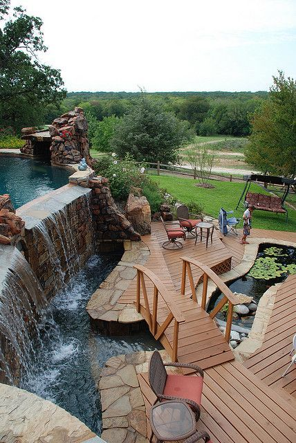 Dream Pools With Lazy River Yards