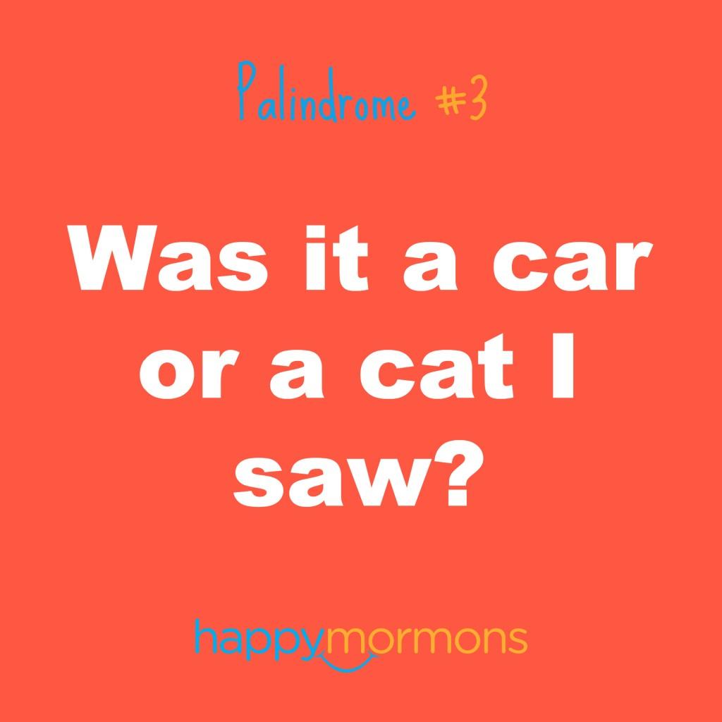 Mormon Palindromes