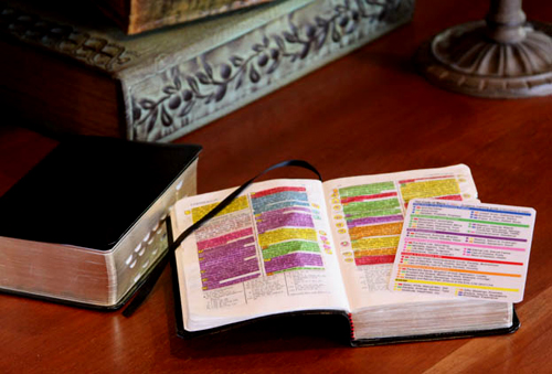 highlighting scriptures