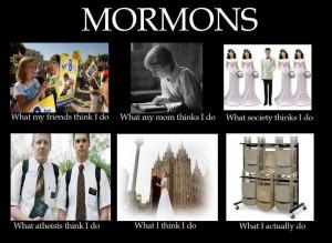 what mormons actually do