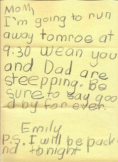 Children's letters (4)