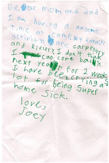 Children's letters (9)