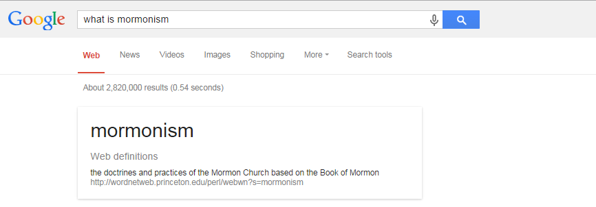 what is mormonism