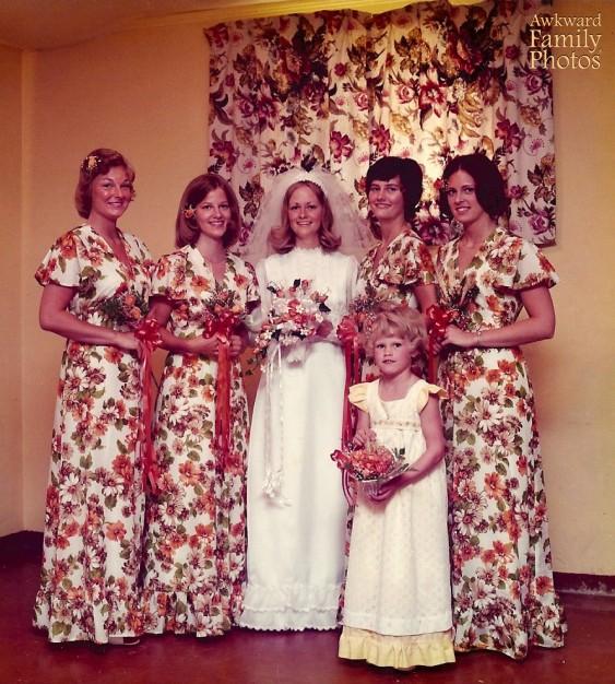awkward wedding