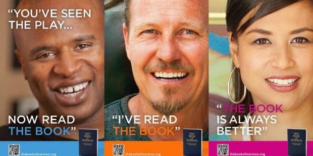 Book of Mormon musical ad