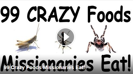 99 Crazy foods mormon missionaries eat