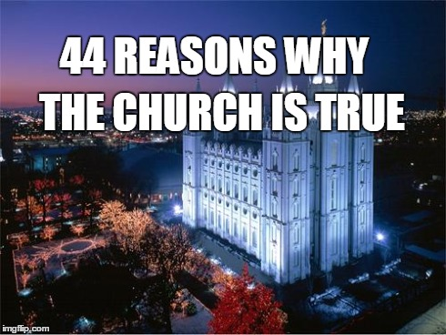 Many Times Those Who So Adamantly Oppose The Church Of Jesus Christ Latter Day Saints Will Deploy A Big List Tactic To Convince Members Or Other