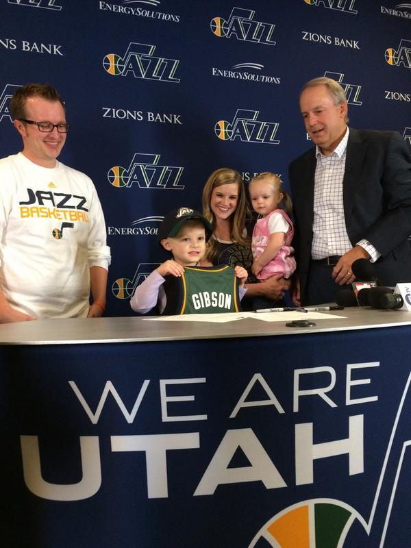 jp gibson utah jazz 5 year old