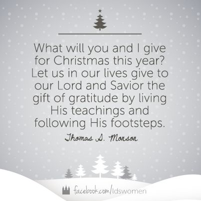 17 Incredibly Inspirational Quotes About Christmas - LDS S.M.I.L.E.