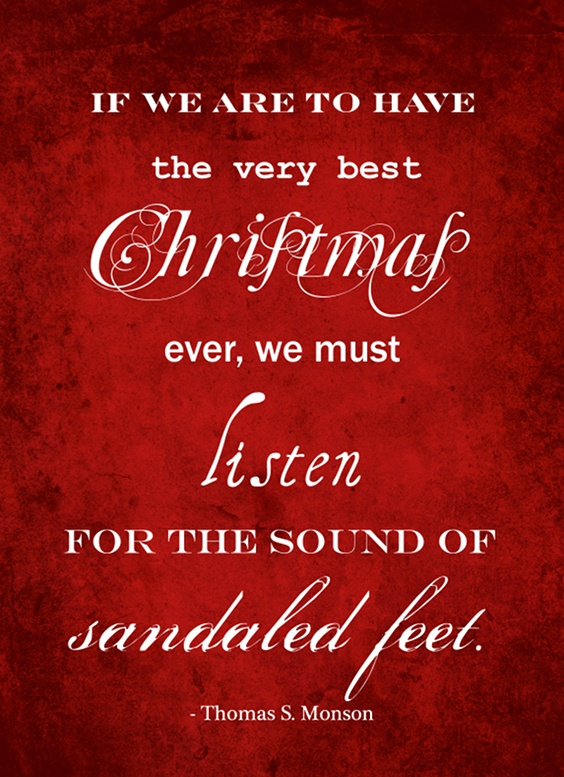 17 incredibly inspirational quotes about christmas lds s