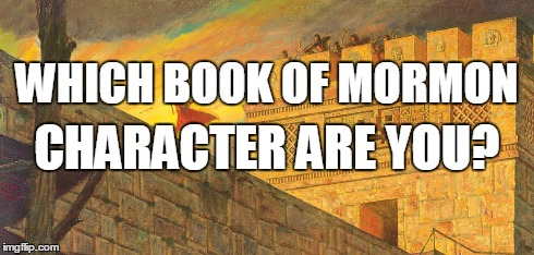 book of mormon character quiz