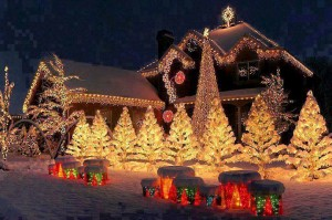 maps of all the Christmas lights in utah