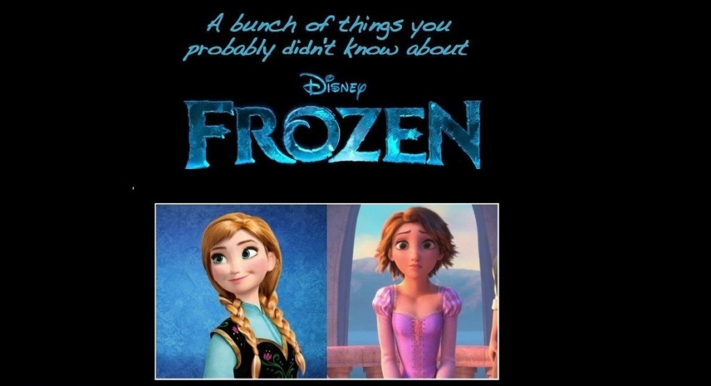 things you didn't realize about Frozen