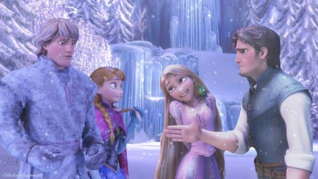 mind blown fact how tangled and frozen are connected