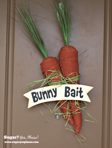 Bunny Bait Easter Project