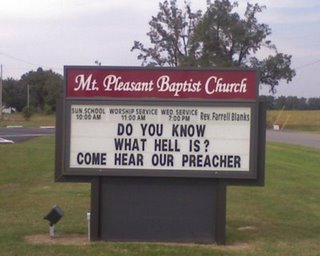 Hilarious and funny church signs from around the US (1)