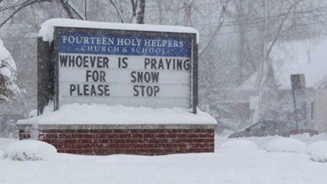 Hilarious and funny church signs from around the US (5)