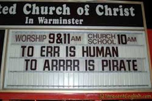 Hilarious and funny church signs from around the US (9)