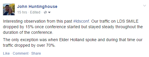 The funniest tweets and memes from General Conference - lds smile
