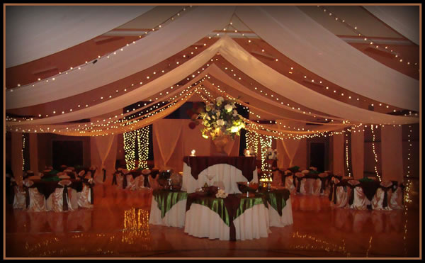 Super Elegant Cultural Hall Wedding Decorations - LDS S.M.I.L.E.