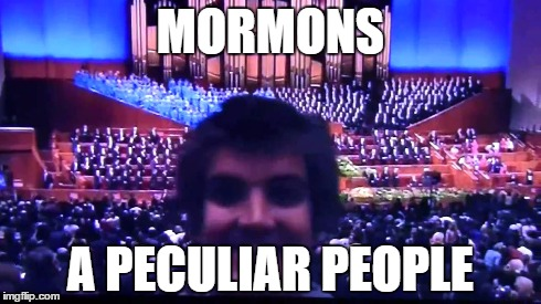 mormons peculiar people