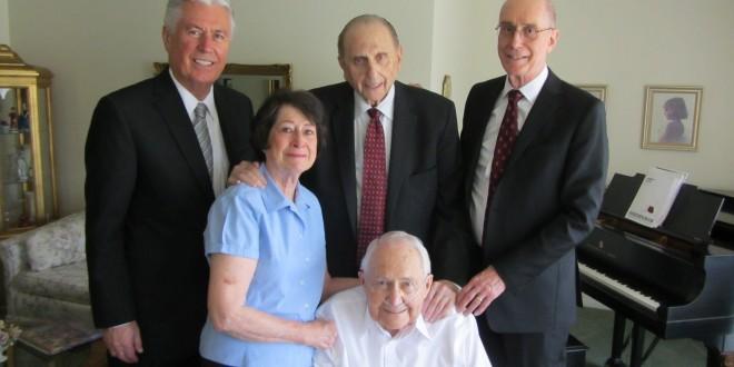 Elder Perry and Elder Scott