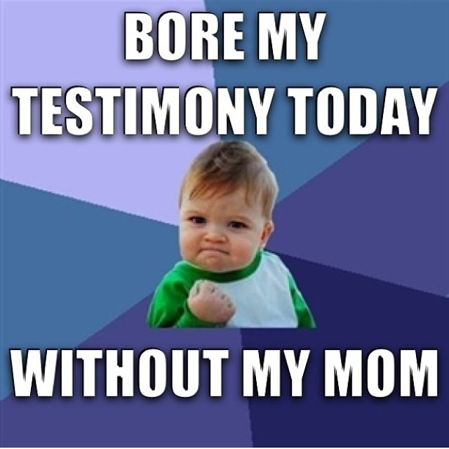 Hilarious Baby Mormon memes (12)