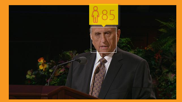 How Old Does Microsoft think President monson