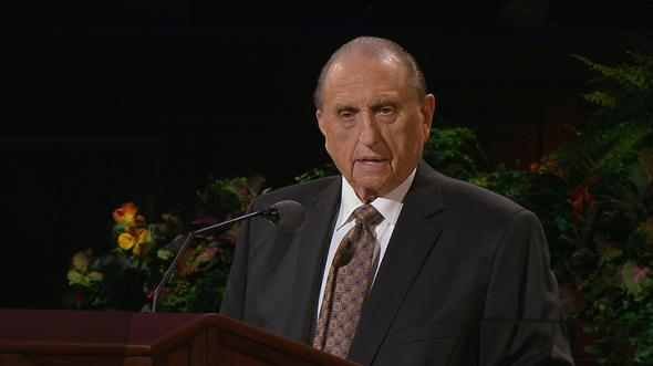 How old is President Monson