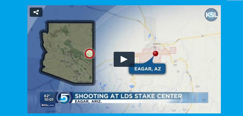 Shooting at Arizona Stake Center