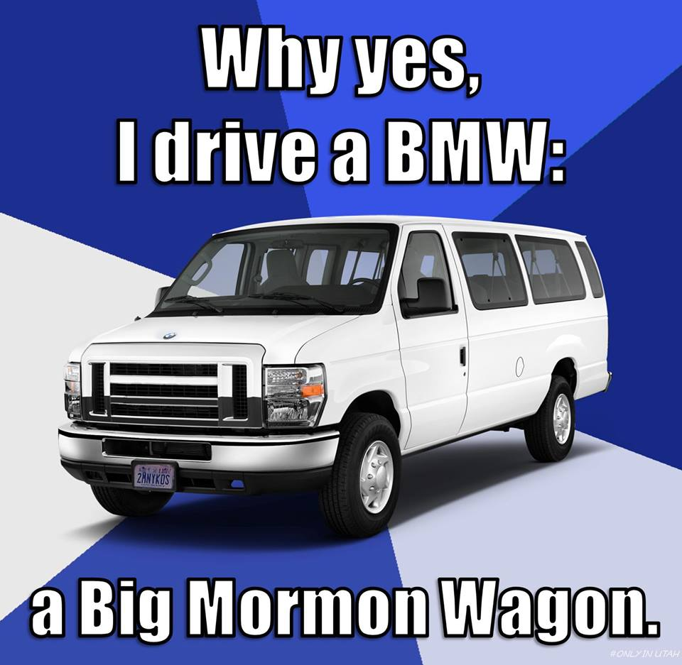 bmw big mormon wagon