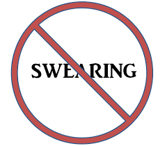 no swearing signs