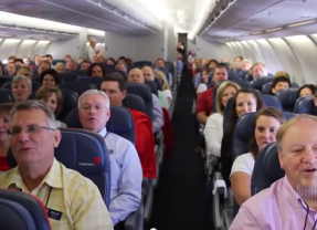 Alex Boye + Mormon Tabernacle Choir + Airplane = Awesomeness