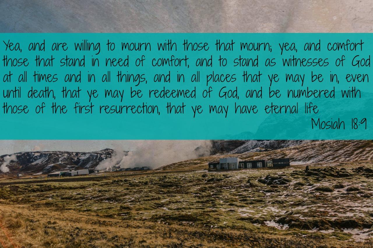 Mosiah 18-9