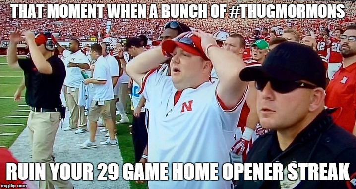 download the best reactions, memes and vines of the byu nebraska game lds