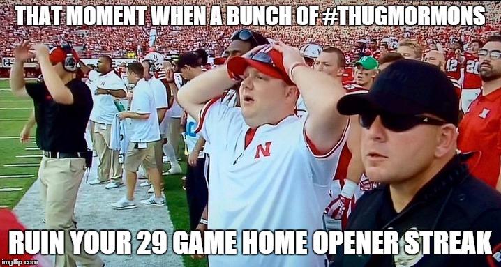 that moment nebraska home opener